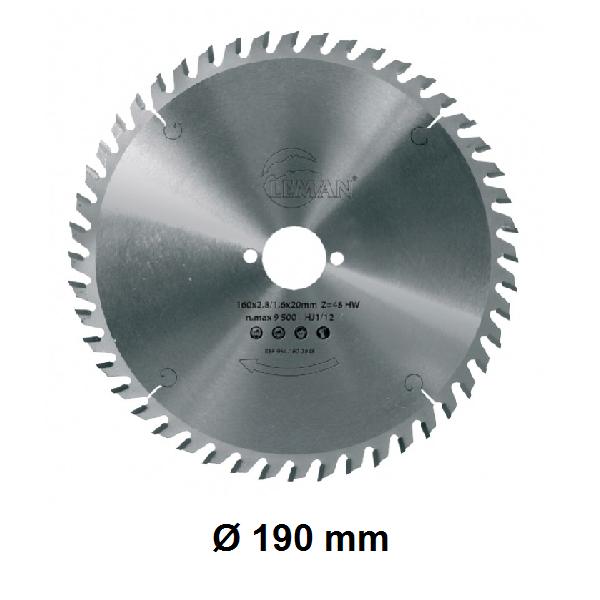 Lame Ø 190 mm