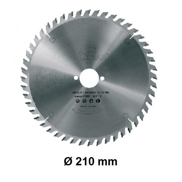 Lame Ø 210 mm