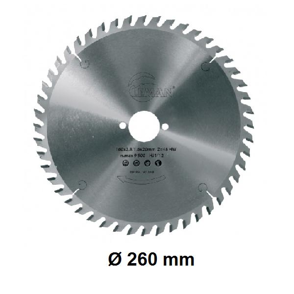 Lame Ø 260 mm
