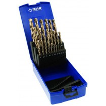 Coffret de 25 Forets Queue Cylindrique Cobalt 1-10x0.50