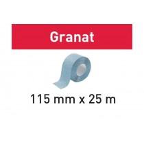 Abrasifs en rouleau 115x25m Granat FESTOOL
