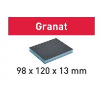 Éponge de ponçage 98x120x13 Granat FESTOOL