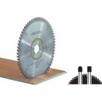 Lame scie circulaire spéciale Ø 225 mm - Ep. 2.6 - Z. 64 - Al. 30 FESTOOL 489459