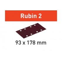 Abrasifs STF 93x178/8 Rubin 2 FESTOOL