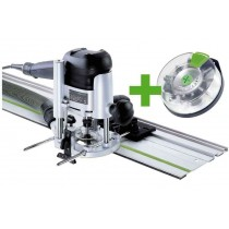 Défonceuse OF 1010 EBQ-Set + Box-OF-S 8/10x HW FESTOOL 574384