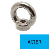 Anneau Femelle Acier M Ø 16