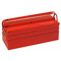 Caisse à outils métallique 530 x 210 x 200 mm