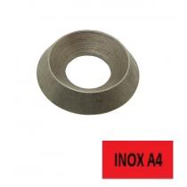Rondelle cuvette Inox A4 M Ø 10 BTE 50 (Prix à l'unité)