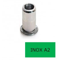 Insert tête plate GOFIX INP Inox A2 M3 x 10.5 BTE 500 (Prix à la boîte)