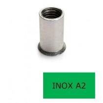 Insert tête fraisée GOFIX INF Inox A2 M6 x 17 BTE 250 (Prix à la boîte)