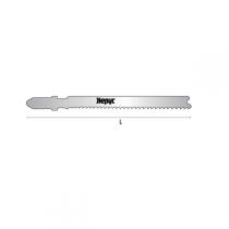 Lames scie sauteuse métal, coupe droite fine Lg 67 mm