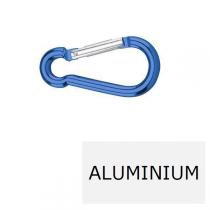 Mousqueton à aluminium 5 x 50 (Prix à la pièce)