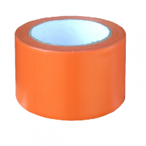 Ruban adhesif de chantier Orange 33 m x 50 mm