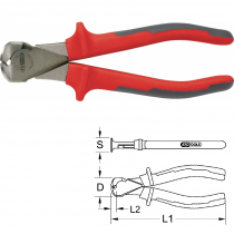 Pince coupante frontale ULTIMATE 165 mm