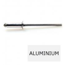 Rivet tête fraisée standard ALX TF alu-acier 4 x 12 BTE 500 (Prix à la boîte)