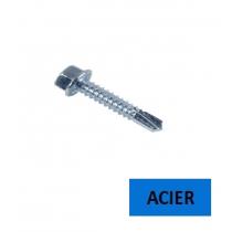 Vis autoperceuse TH DIN 7504 K acier zingué 4.2x16 BTE 500
